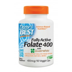 Fully Active Folate 400mcg, 90 caps
