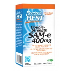 Double-Strenght SAM-e 400mg, 30 tablets