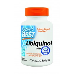 Ubiquinol 200mg, 30 softgels