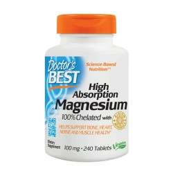 High Absorption Magnesium 100% Chelated 240 tablets